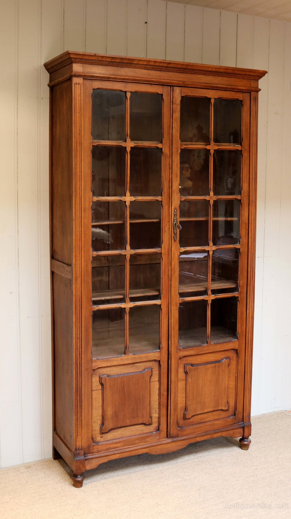 Tall beechwood cabinet bookcase antiques atlas for Kitchen cabinets 50cm wide