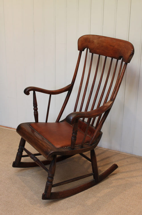 Old Rocking Chairs ~ Antique victorian rocking chair furniture