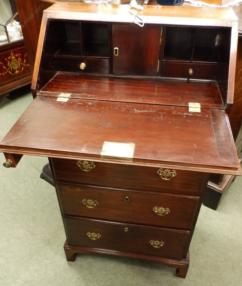 1800s small bureau antiques atlas for Bureau antique