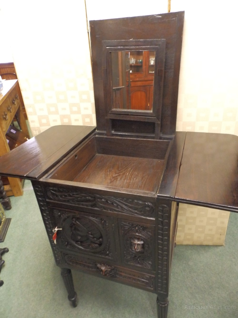 Gentlemans Dressing Cabinet Antiques Atlas