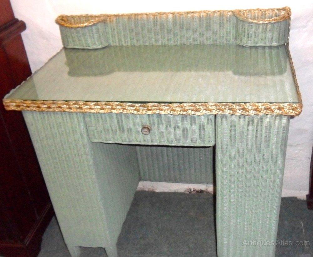 lloyd loom desk antiques atlas. Black Bedroom Furniture Sets. Home Design Ideas