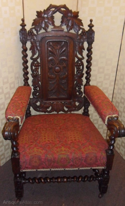 Victorian arm chair antiques atlas