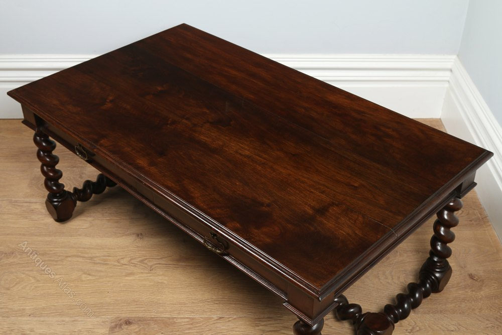 French Provincial Walnut Coffee Table Circa 1850 Antiques Atlas