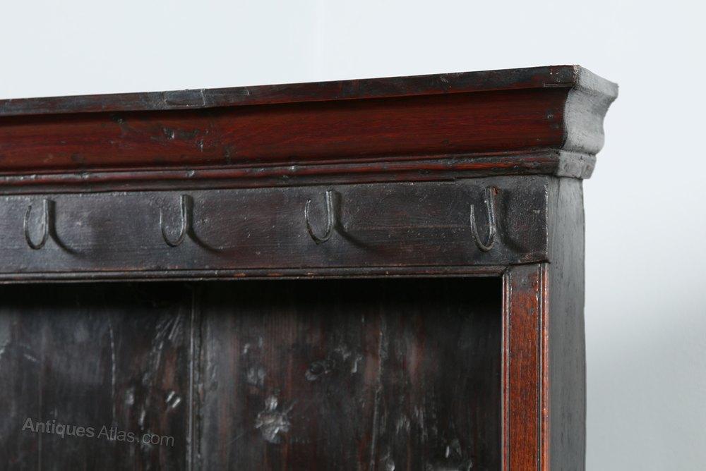 George II Welsh Oak Joined Dresser Base And Rack