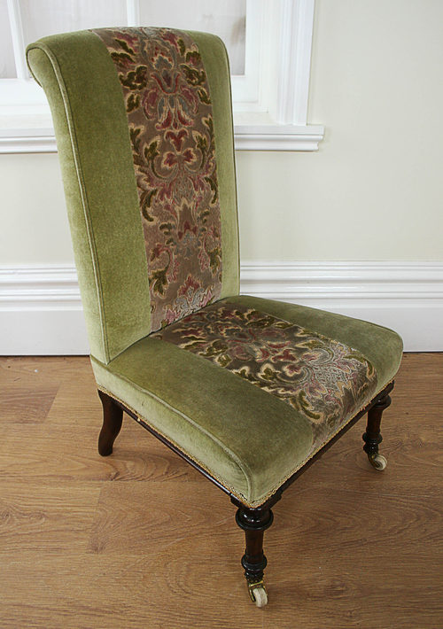 - Small Mahogany Victorian Nursing Chair (c.1840) - Antiques Atlas