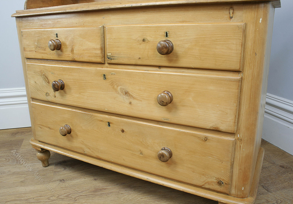victorian pine chest of drawers circa 1840 antiques atlas. Black Bedroom Furniture Sets. Home Design Ideas