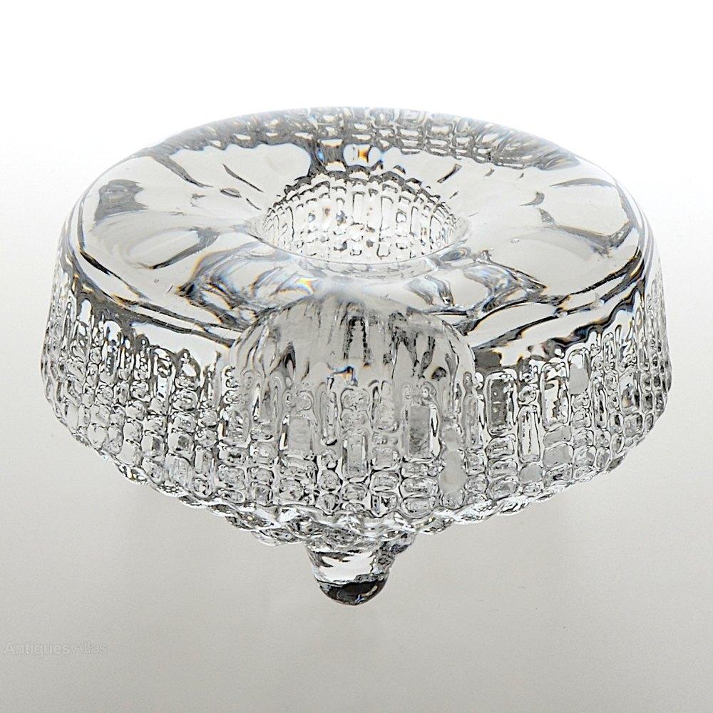 antiques atlas iittala ultima thule glass candleholder. Black Bedroom Furniture Sets. Home Design Ideas