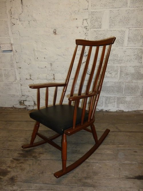 Fantastic Antiques Atlas Danish Teak Vintage Retro Rocking Chair Pdpeps Interior Chair Design Pdpepsorg