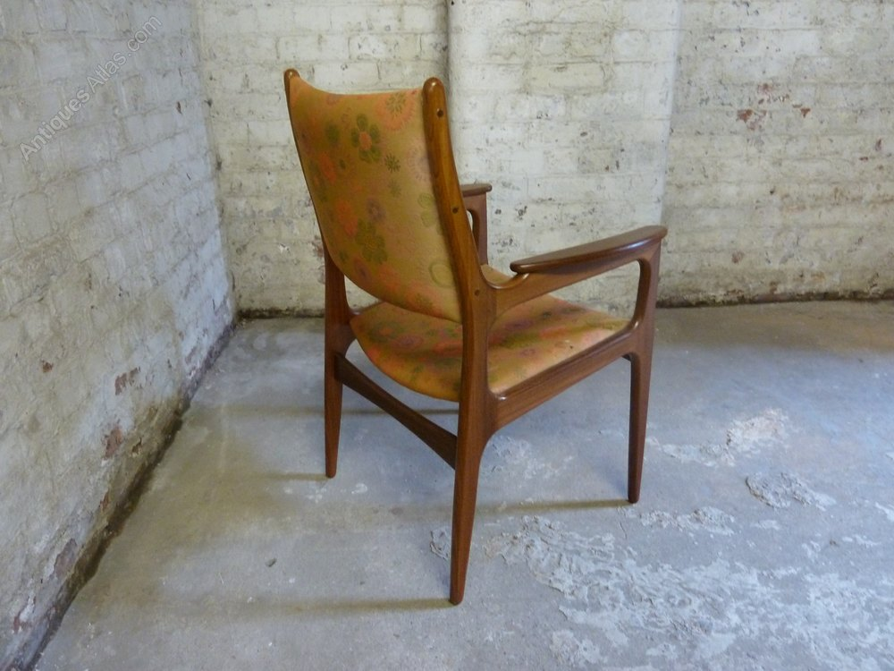 Antiques Atlas Mid Century Danish Teak Desk Lounge Arm Chair