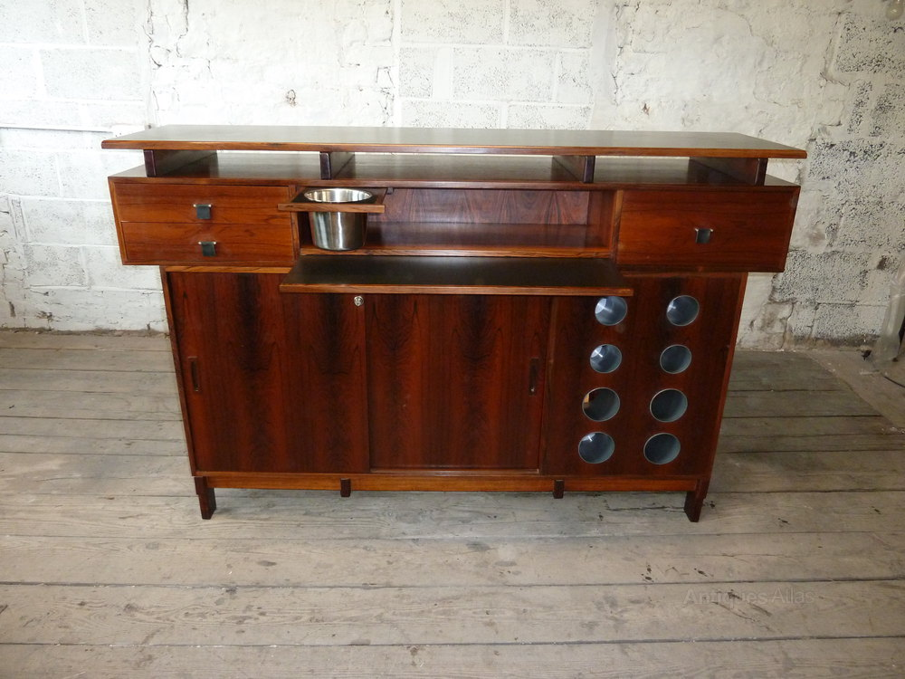 Antiques Atlas Mid Century Rosewood Bar By Erik Buck For