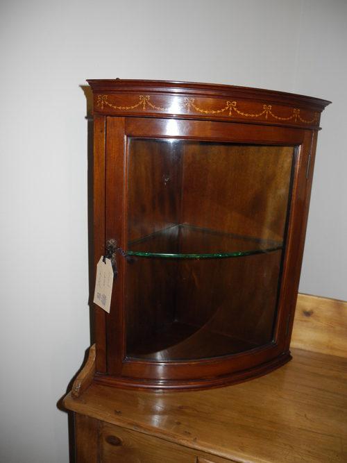 - Superb Corner Wall Cabinet - Antiques Atlas