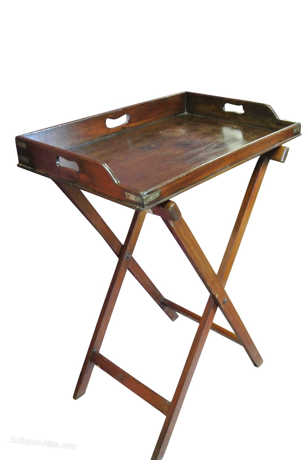 mahogany butlers tray on stand antiques atlas