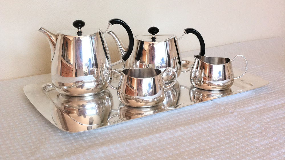 Walker and Hall Silver Plated Tea Set on Tray ... & Antiques Atlas - Walker And Hall Silver Plated Tea Set On Tray