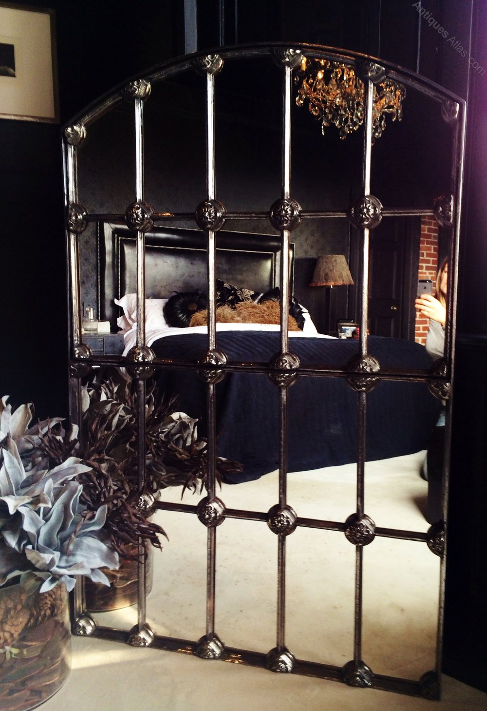 Antiques atlas dorest decorative window mirror for Window dealers