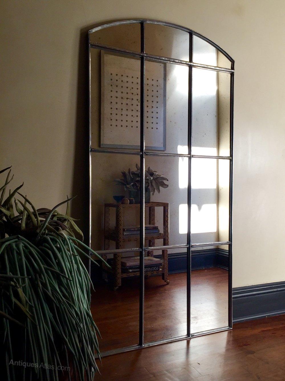 Antiques atlas vintage window mirror for Window dealers
