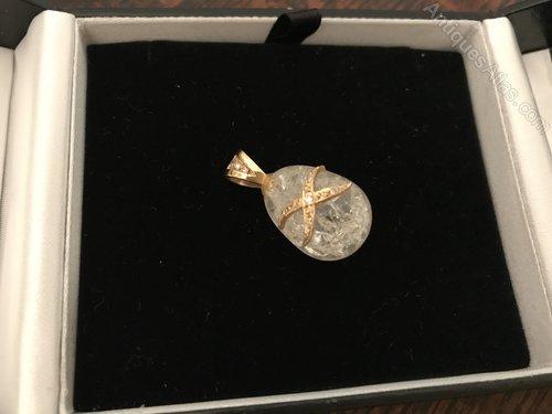 Fabulous Fabergé Egg Limited Edition pendant