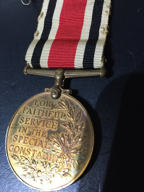 George Vl Special Constabulary Medal
