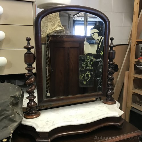 Impressive Victorian Dressing Table Mirror