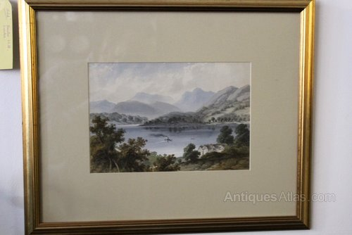 Picture of Lake Windermere, Gertrude Mary Coventry