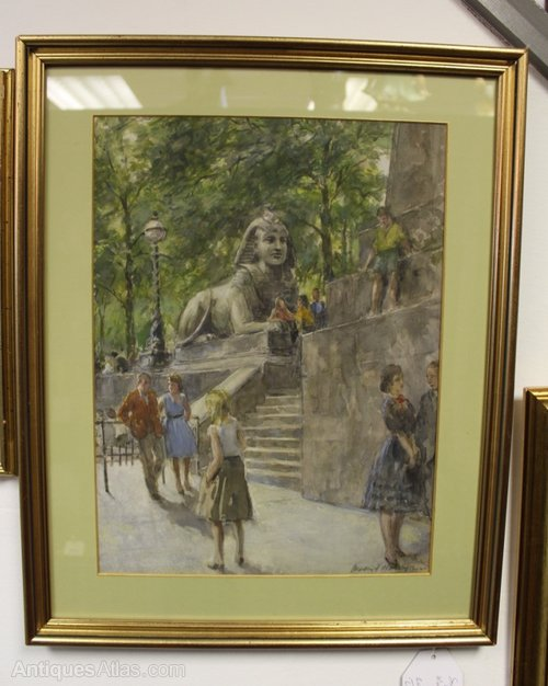 Signed Watercolour by Martin Frederick Hamlyn