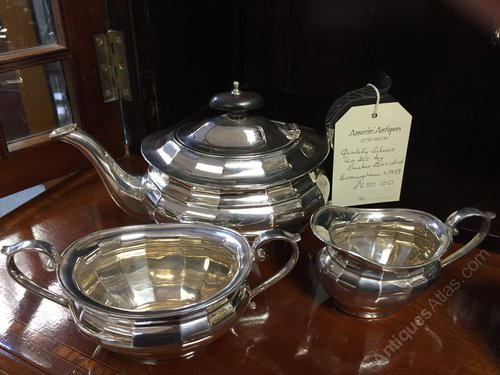 Solid Silver Tea Set