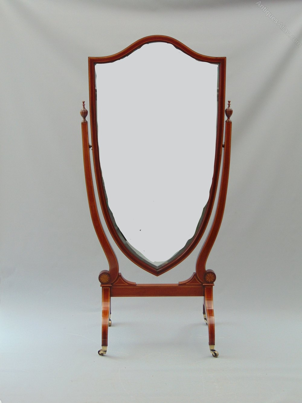 Antiques atlas a quality cheval mirror for Cheval mirror