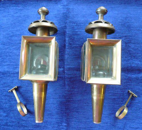 Antiques Atlas Vintage Br Carriage Lamps