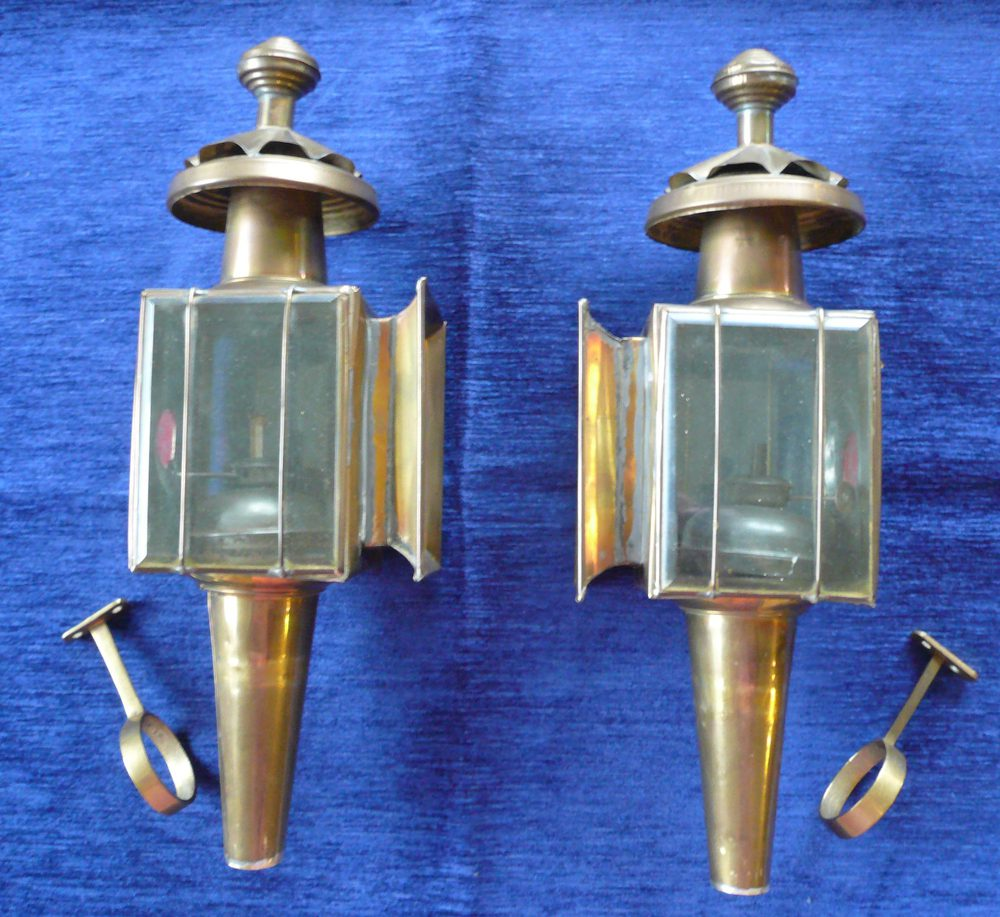 Vintage Br Carriage Lamps Antique Lighting Pony Trap