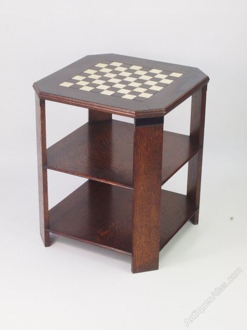 Art Deco Chess Top Coffee Table ...