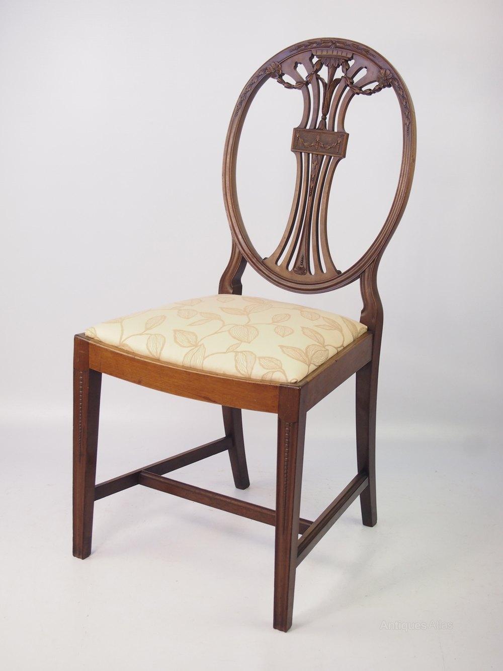 Chair Dressing Table ~ Edwardian mahogany desk chair dressing table