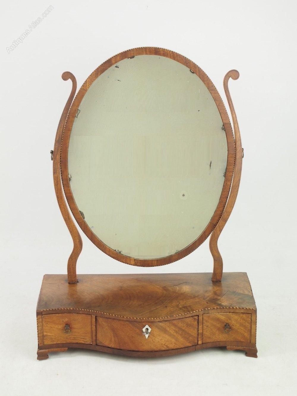 Antiques Atlas Georgian Mahogany Dressing Table Toilet