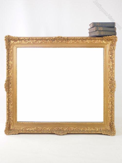 305dca6e539e Antiques Atlas - Large Gilt Framed Wall Mirror