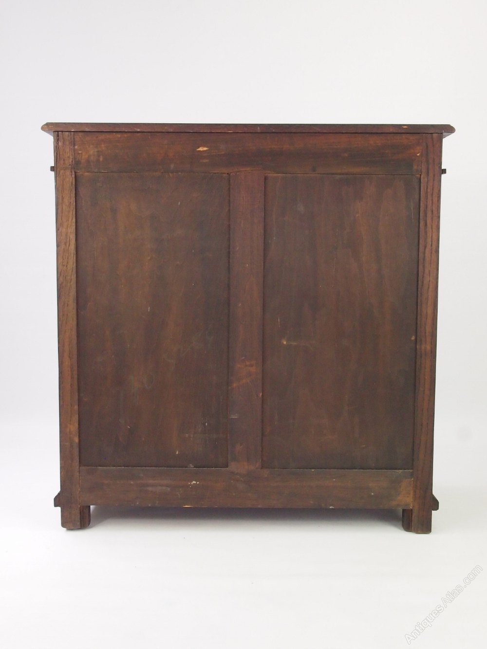 ... Cupboard Antique Hall Cupboards ... - Oak Shoe Cabinet - Small Hall Cupboard - Antiques Atlas