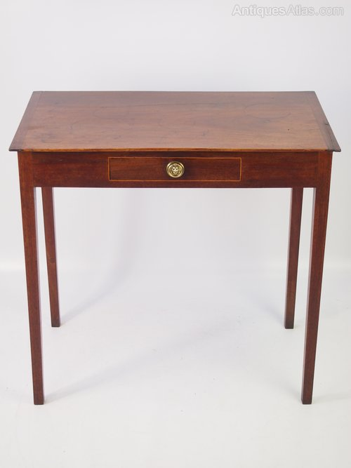 Small C19th Gany Writing Desk Or Side Table