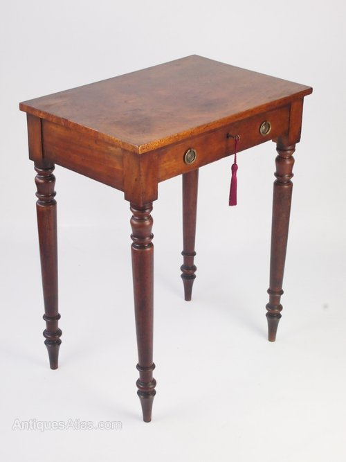 Small Victorian Writing Desk Side Table