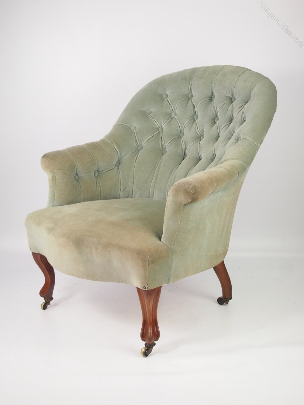 Victorian Button Back Tub Armchair J Taylor Amp Sons
