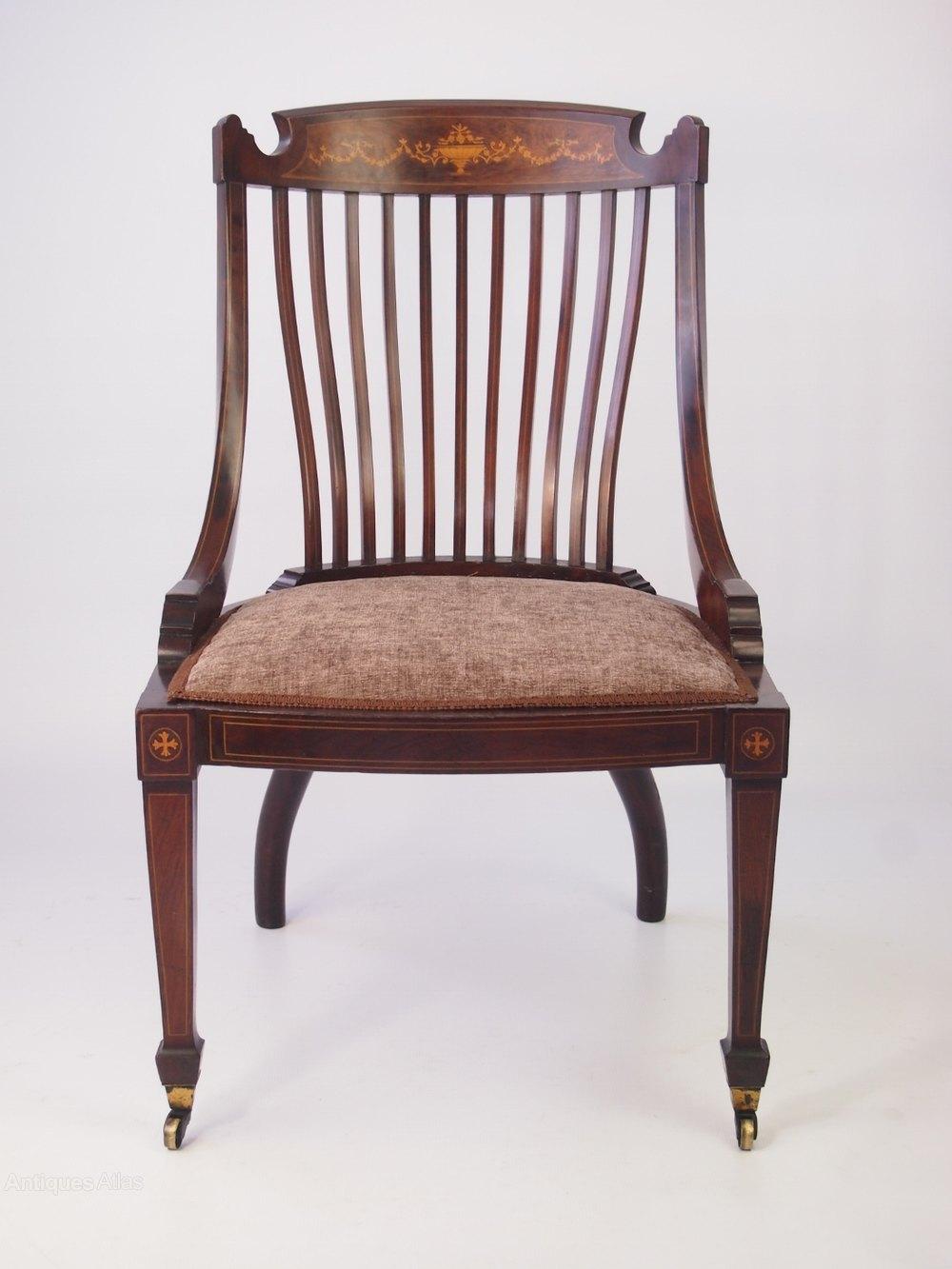 victorian mahogany tub dressing table chair antiques atlas. Black Bedroom Furniture Sets. Home Design Ideas