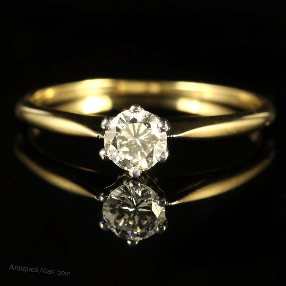 Old Cut Diamond Engagement Ring Uk