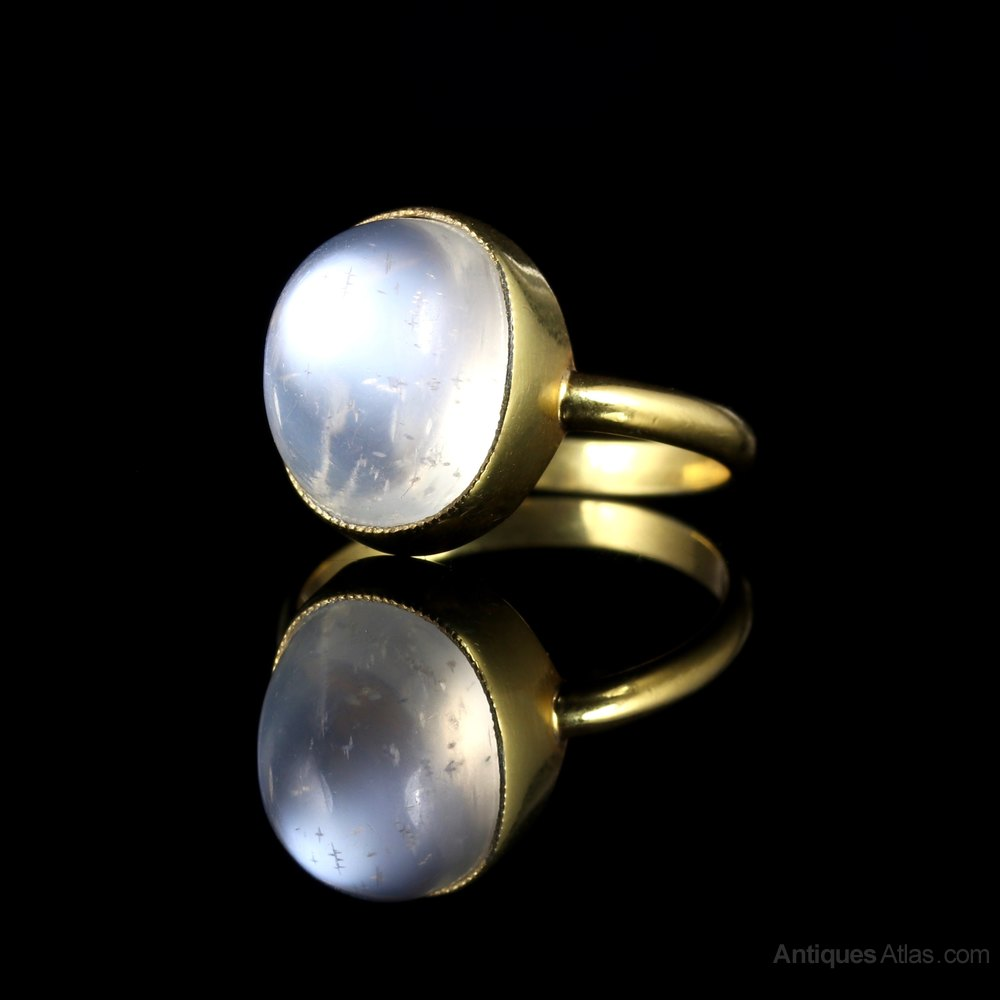 Pictures Of Moonstone Rings