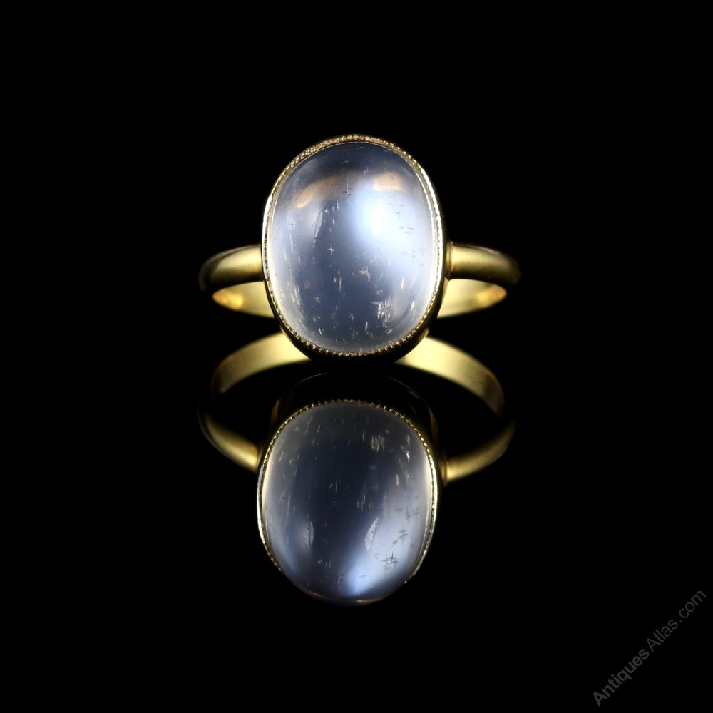 antiques atlas antique victorian moonstone ring 18ct