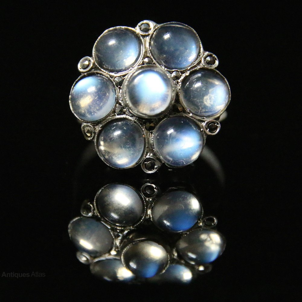 brooch and products moonstone clover victorian gold pearl brodney collections pins