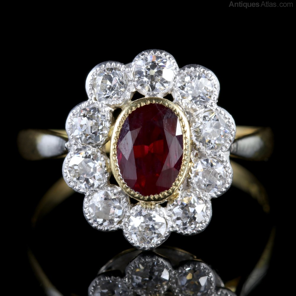 Victorian Ruby Rings Uk