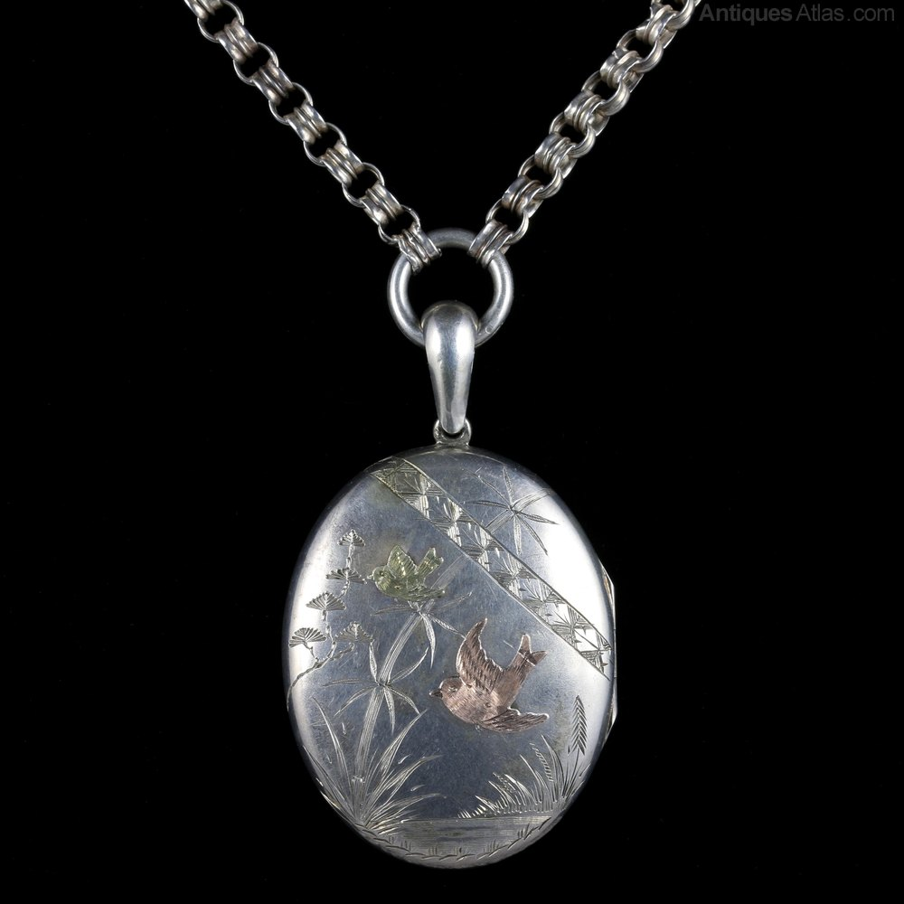 in your locket necklaces excellent antique silver jewelry at victorian sale button hastings img lockets id to up sterling for memories j condition drop