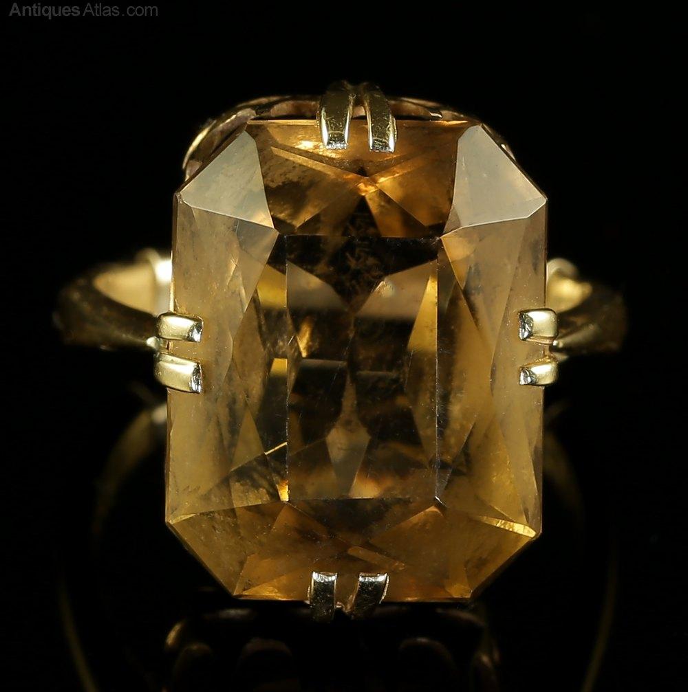 Cairngorm Stone Ring