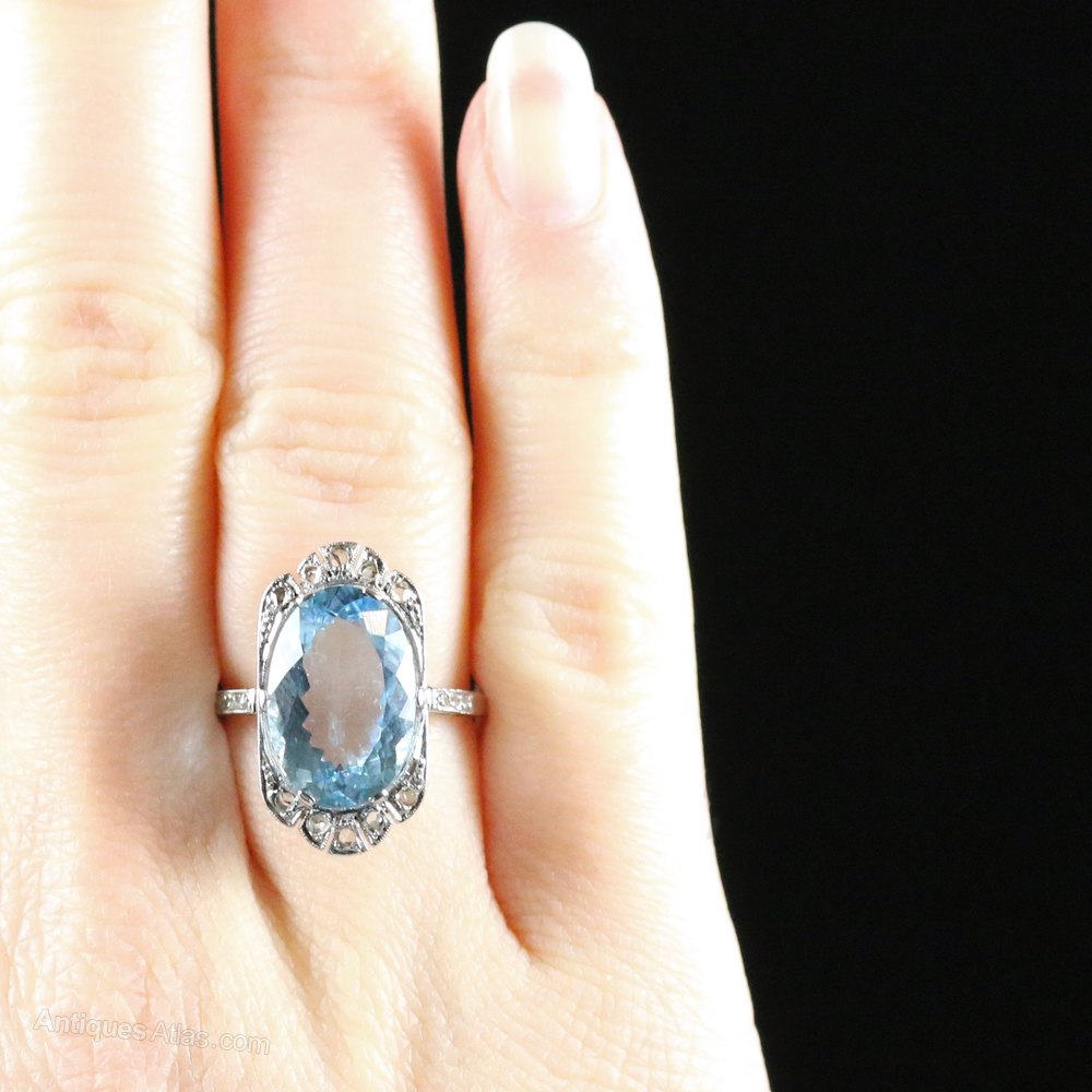 Aquamarine Wedding Ring Set 34 Inspirational