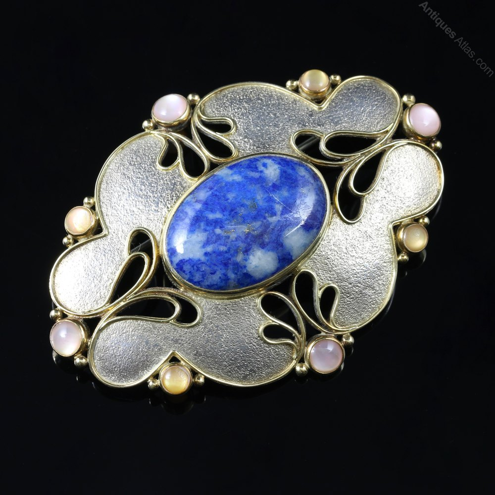 taylor brooch jewellery sapphire nicole barr ga shop moonstone and