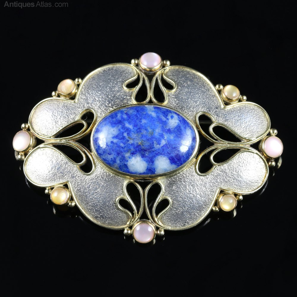 renate lot brooch projects and gold goldschmiede csm an opal auktionshaus broo en wander auction lempertz gie catalogues