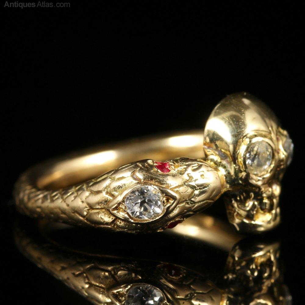 Skull Wedding Ring 27 Popular  Rings skull skeleton
