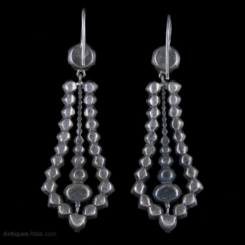 earrings gonzales cecilia he roca web products antique jewelry
