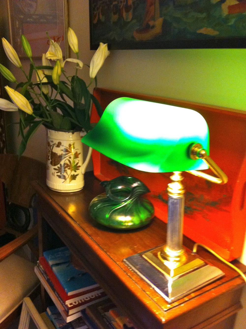 Vintage Bankers Lamp Antique Lighting Desk Lamps